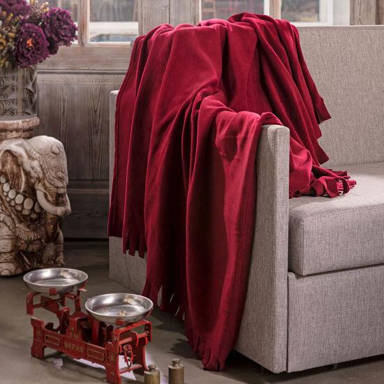 Helios Maroon Blanket
