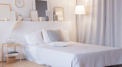 Küçük Yatak Odası Dekorasyonu İçin 8 Öneri